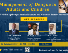 Management of Dengue in Adults and Children